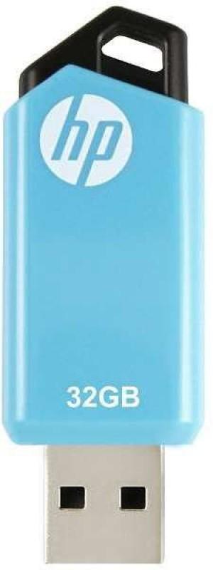 HP v150w 32 GB Pen Drive(Black, Blue)