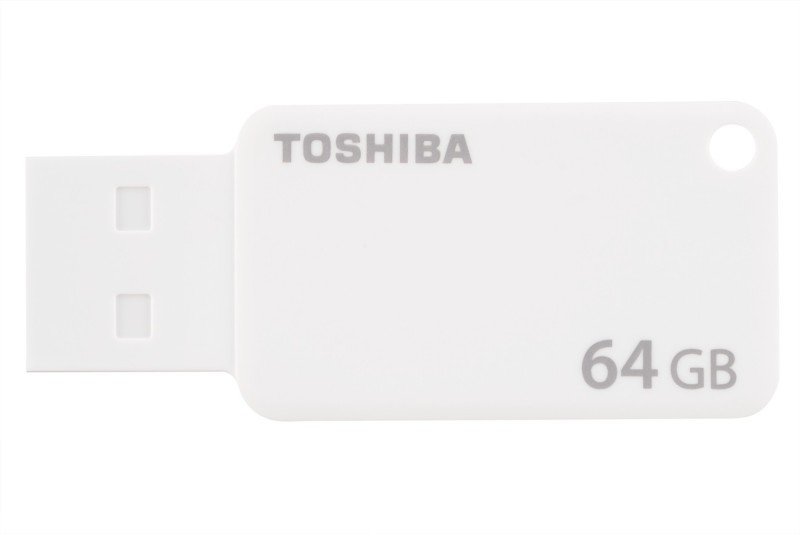 Toshiba U303 64 GB Pen Drive(White)