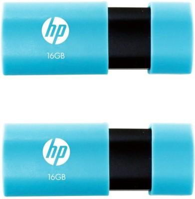 HP V152W 16 GB Pen Drive(Multicolor)