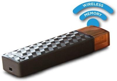 SanDisk Connect Wireless Stick 16 GB Pen Drive(Black)