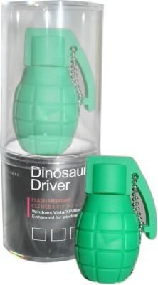 Dinosaur Drivers Green Atom Bomb 8 GB Pen Drive
