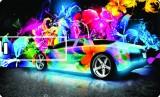 Printland Credit Card Paint Car 8 GB Pen...