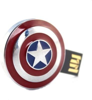 Quace Captain America Shield 32 GB Pen Drive