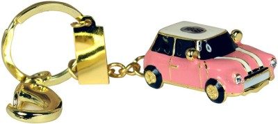 Zeztee Mini Pink Car Shape Metal 16 GB Pen Drive