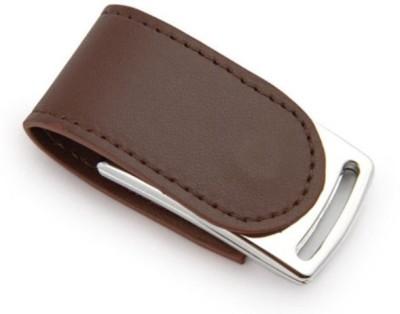 eShop Genuiue Leather Magnetic Flap 8 GB Pen Drive