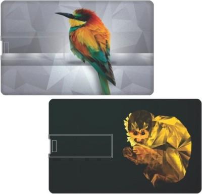 Printland Set of 2 Powerful PC163923 16 GB  Pen Drive