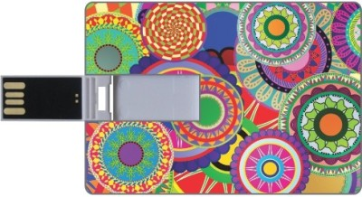 Printland Credit Card Shaped PC82906 8 GB Pen Drive