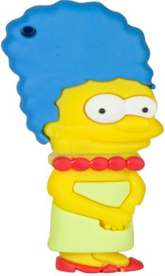 Zeztee Lisa Simpson Cartoon Character 8 GB Pen Drive