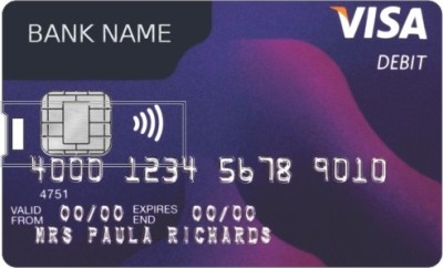 Via Flowers Llp Credit card Shape Pendrive VPC160115 16 GB Pen Drive