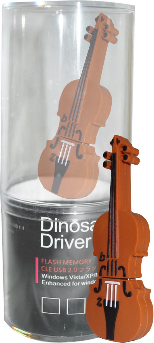 View Dinosaur Drivers Violin 16 GB Pen Drive(Multicolor) Price Online(Dinosaur Drivers)