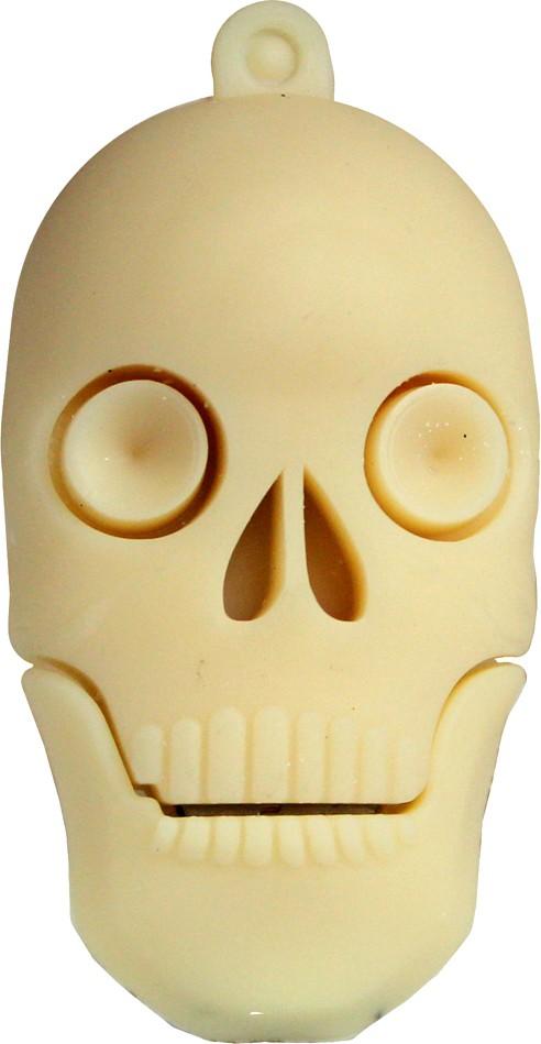 View Zeztee Skull Shape 8 GB Pen Drive(Multicolor) Price Online(Zeztee)