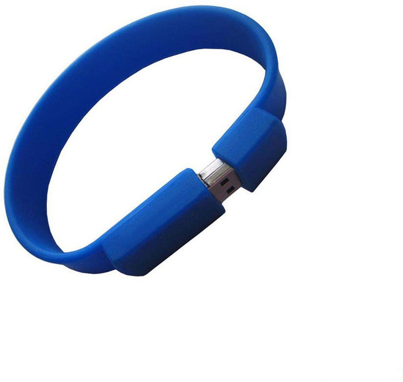 View Storme Blue Bracelet 8 GB Pen Drive(Blue) Price Online(Storme)