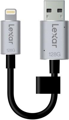 Lexar C20i 128 GB OTG Drive(Black, Silver, Type A to Lightning) at flipkart