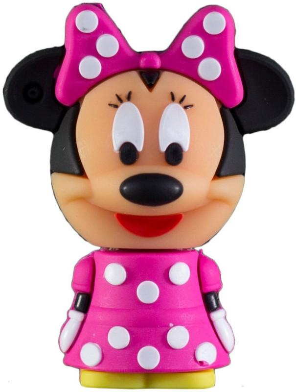 Zeztee Cartoon Character shape 16 GB OTG Drive(Pink, Type A to Micro USB)