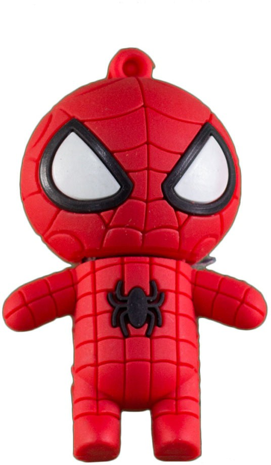 View Zeztee Spiderman Cartoon Character Shape 16 GB OTG Drive(Red, Type A to Micro USB) Price Online(Zeztee)