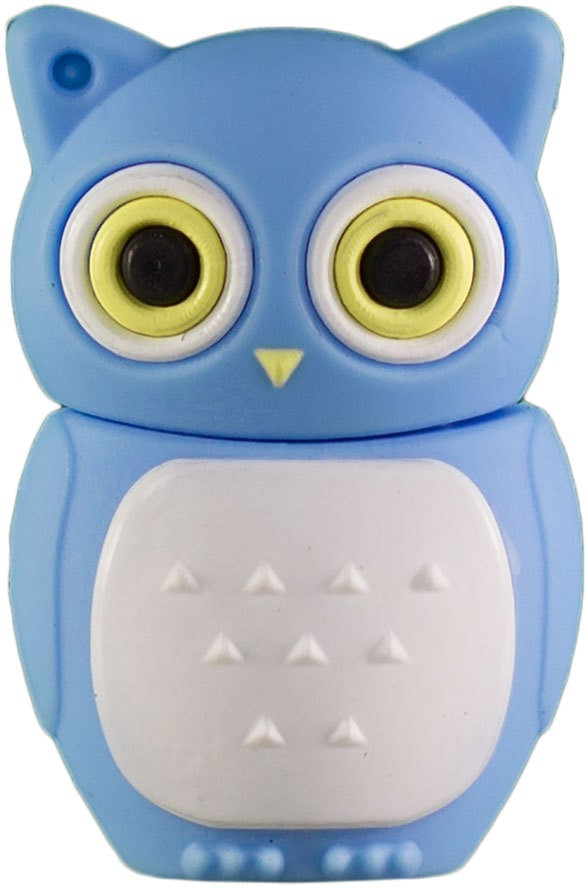 View Zeztee Bird shape 16 GB OTG Drive(Blue, Type A to Micro USB) Price Online(Zeztee)