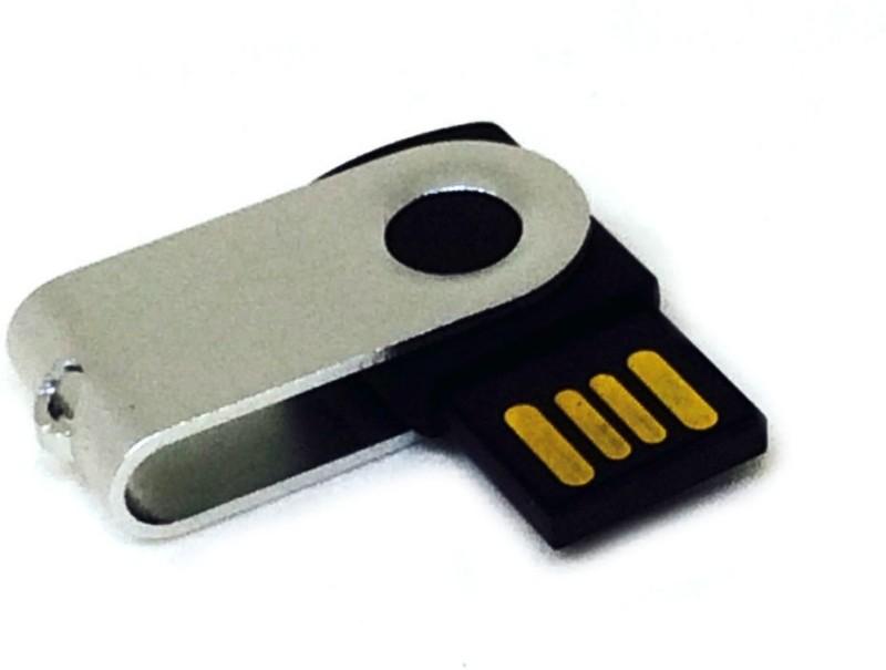 Shrih Twist Turn Design 8 GB OTG Drive(Silver, Type A to Type C)