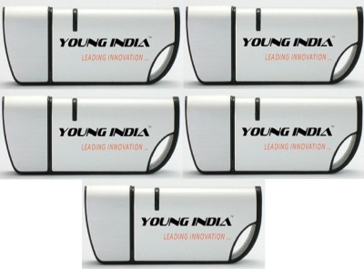Young India Curve Flash Drive Utility 8 GB Pen Drive