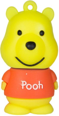 Zeztee Pooh Cartoon Character 16 GB Pen Drive