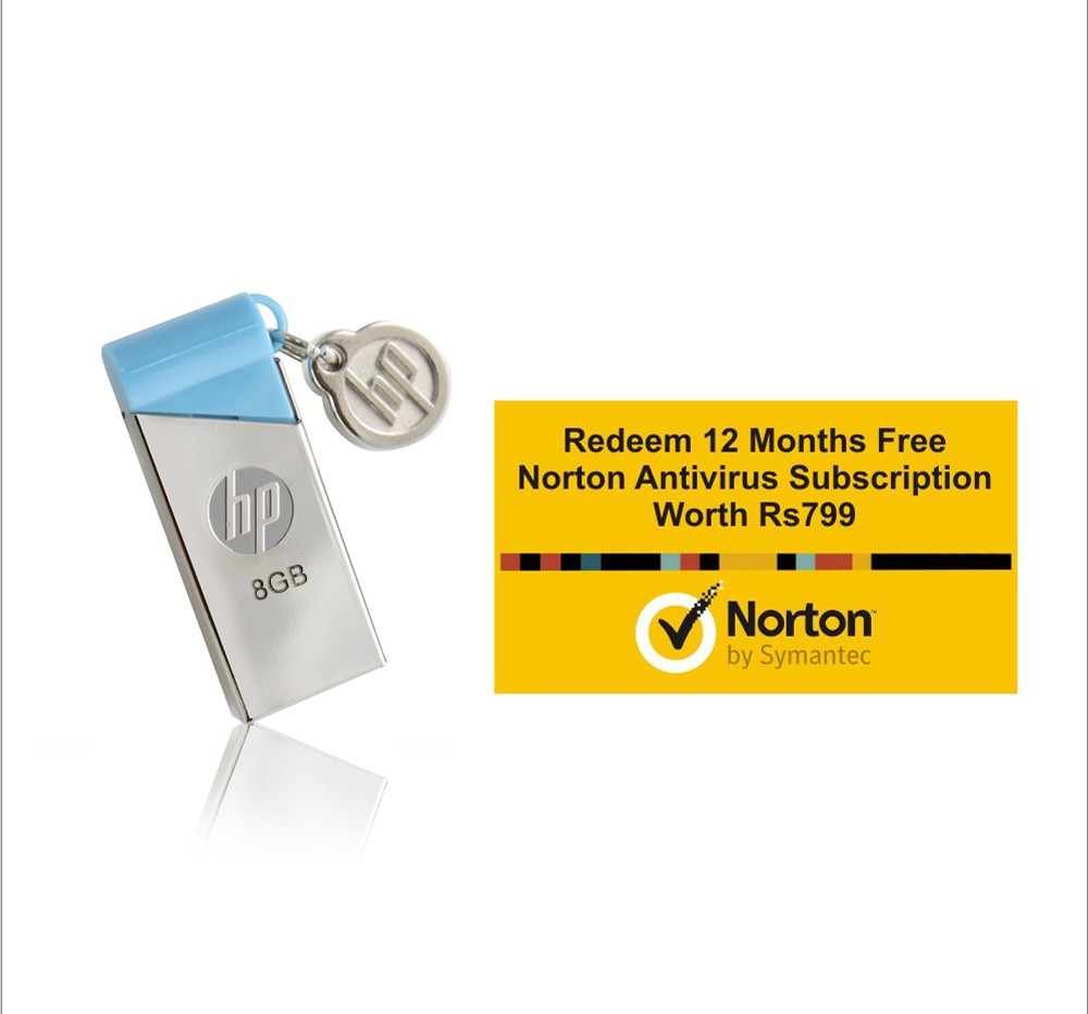 Flipkart - Pendrives with Free Norton AntiVirus Below  Rs. 999