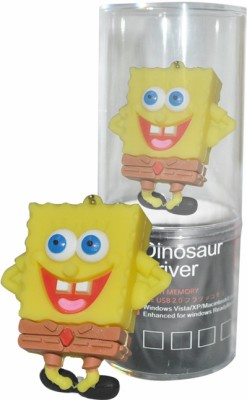 Dinosaur Drivers Sponge Bob Smile 32 GB Pen Drive