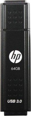HP X705 64 GB Pen Drive(Black)