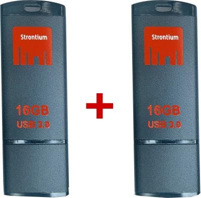 Strontium Jet 16 GB Pen Drive (Pack of 2)