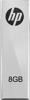 HP V-210 W 8 GB Pen Drive(Grey)