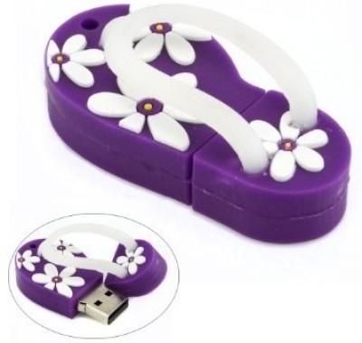 The Fappy Store Slipper Purple 16 GB Pen Drive(Purple)