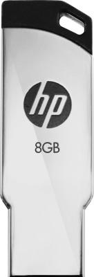 HP V236w 8 GB Pen Drive(Silver)