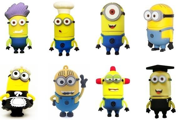 View Quace Minion Family 32 GB Pen Drive(Multicolor)  Price Online