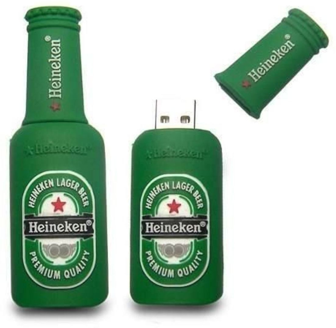 View Storme Beer Bottle 16 GB Pen Drive(Green) Price Online(Storme)