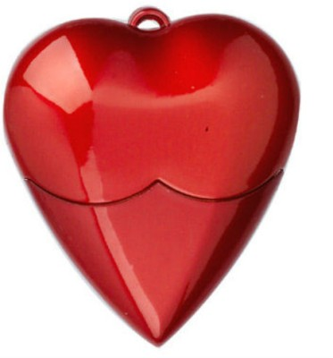 BrandAxis Heart Shape 4 GB Pen Drive