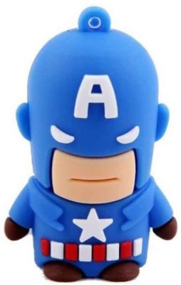 Quace Captain America 4 GB Pen Drive