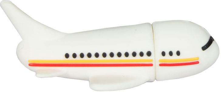 View Zeztee Aeroplan Shape Style 8 GB Pen Drive(Multicolor) Price Online(Zeztee)