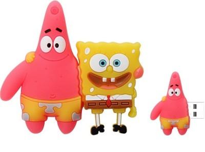 Quace Patrick Sponge Bob 8 GB Pen Drive