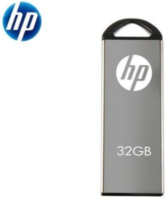 HP v220W 32 GB Pen Drive(Grey) at flipkart