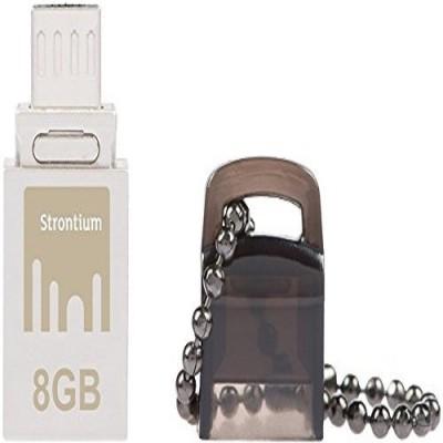Strontium otg Nitro 8 GB Pen Drive