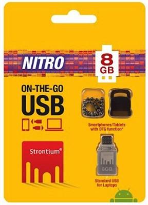 Strontium SR8GSBOTG1 8 GB Pen Drive