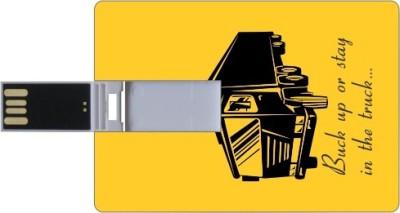 Printland Credit Card Shaped PC82531 8 GB Pen Drive