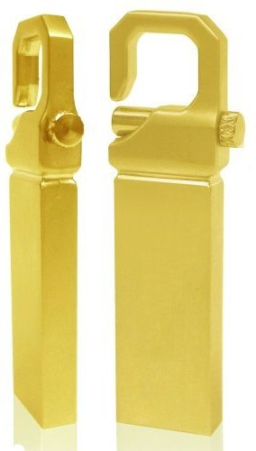 View Turning Heads Pendrive-8-1082G 8 GB Pen Drive(Gold) Price Online(Turning Heads)