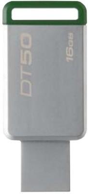 Kingston USB-3.1/3.0/2.0 Data Traveler 50 16 GB Pen Drive(Silver)