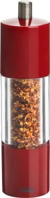 Trudeau Adagio Pepper Ceramic Squeeze Mill(Red, Pack of 1)