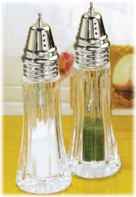 Crystal Clear Alexandria Salt And Pepper Shakers