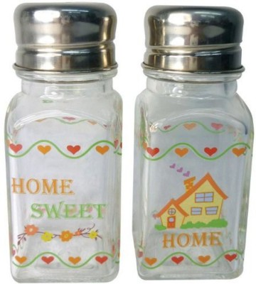 Westland Giftware A Touch Of Glass Home Sweet Home Salt And Pepper Shaker Set