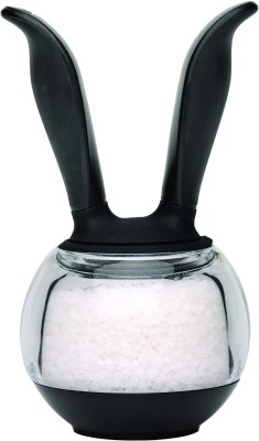Chefn Salt Ball clear Plastic Squeeze Mill(Grey, Pack of 1)