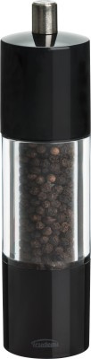Trudeau Adagio Pepper Ceramic Squeeze Mill(Black, Pack of 1)