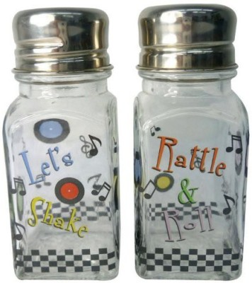 Westland Giftware A Touch Of Glass Lets Shake Salt And Pepper Shaker Set