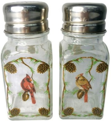 Westland Giftware A Touch Of Glass Cardinals Salt And Pepper Shaker Set