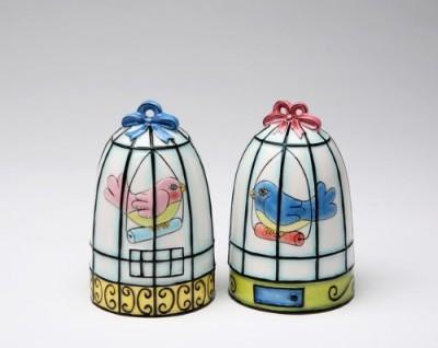 Appletree Design Flights Of Fancy Birdcage Salt And Pepper Set